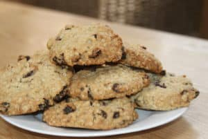 large sultana oaty biscuits