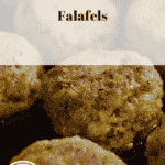 Falafel with carrot salad, only 37p a serving, Meal Plan 1