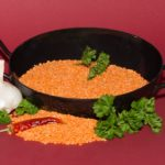 Tomato Dhal & Rice – 27p per serving