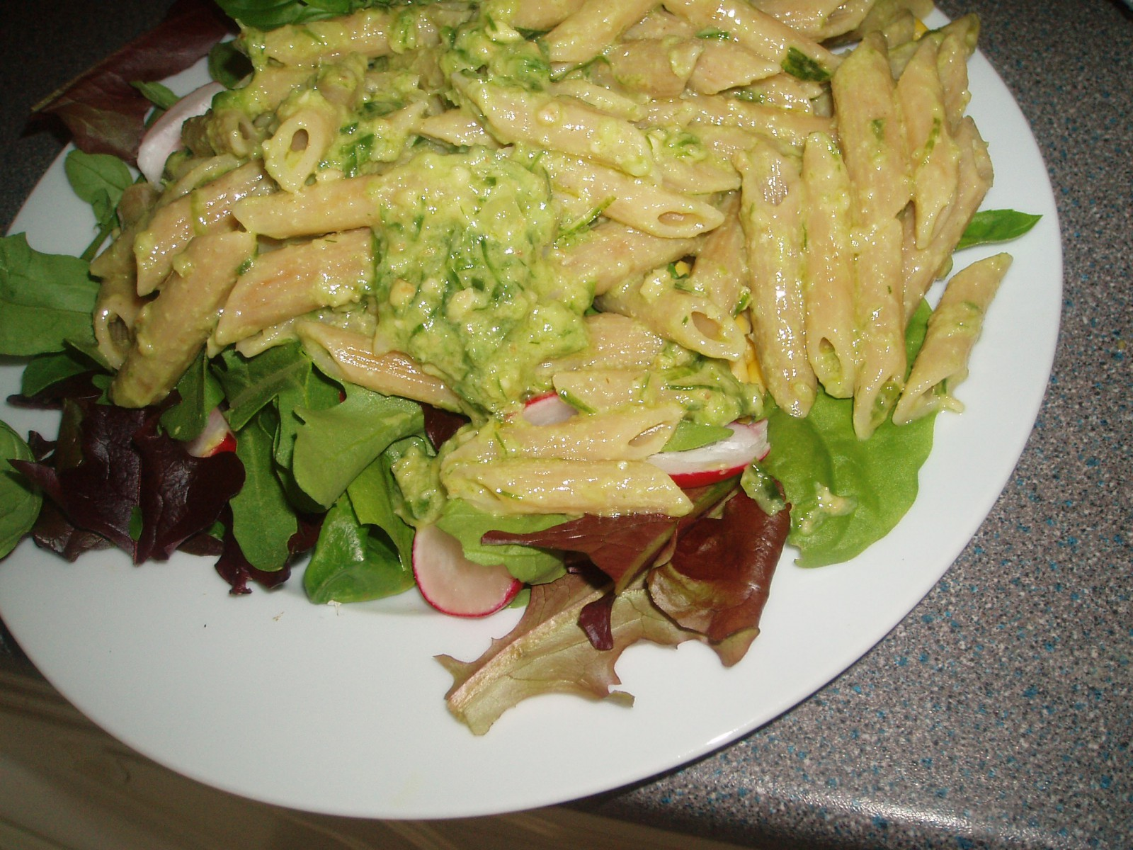 Wild Garlic Pesto Pasta