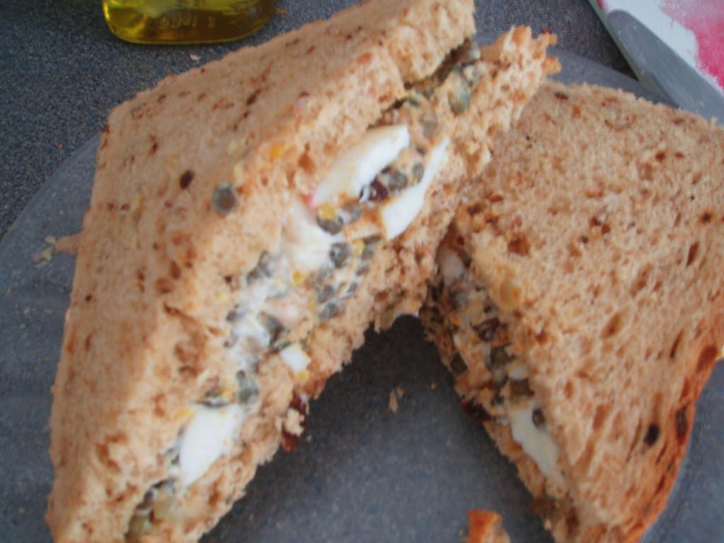puy lentil sandwich