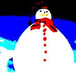snowman (2) poster