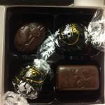 4 chocolates