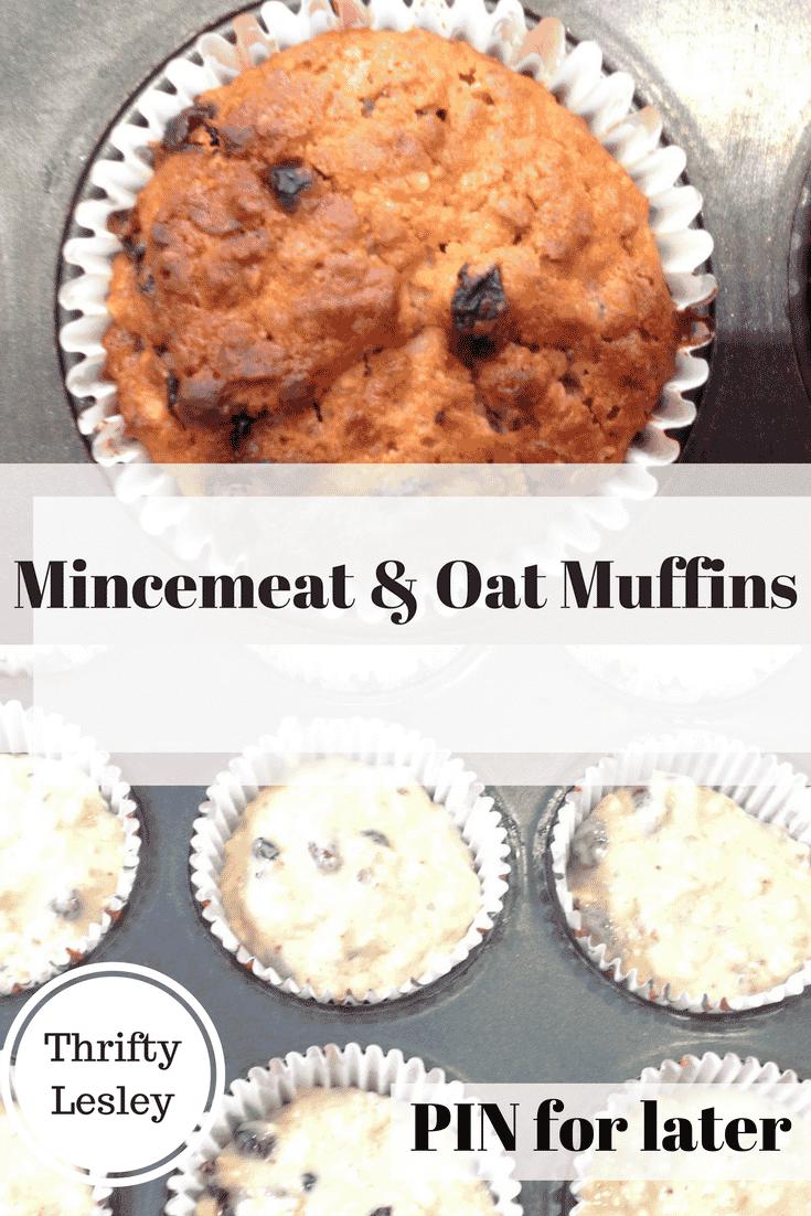 Mincemeat & Oat Muffins