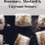 Rosemary, mustard and cayenne scones, 12 for 53p