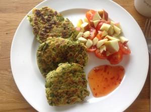 Breakfast Bhaji's