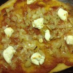 Demo's and anchovy pizza, 39p