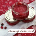 cranberry & lemon curd