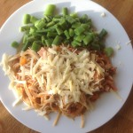 Meal plan 7 – spaghetti bolognese, 55p a portion