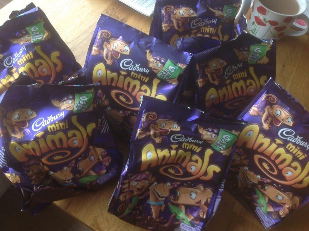 Cadburys Animals - small chocolate biscuits