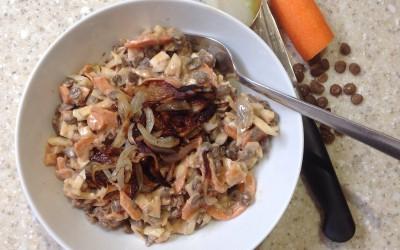 Meal Plan 8 – Lentil salad with soy, 24p