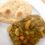 Green Tomato Curry, vegan and using up LOADS of what I have