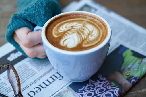 comfort food - large mug of coffee