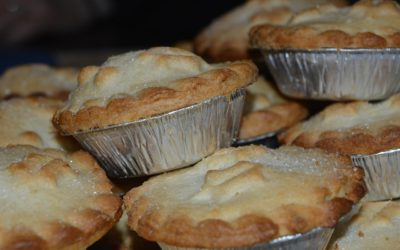 Using up mincemeat – Mince pies, Mincemeat Muffins, Mincemeat Brownies and Mincemeat Ice Cream