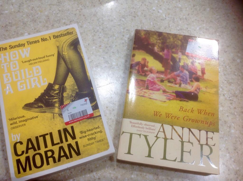 Charity shop paperbacks