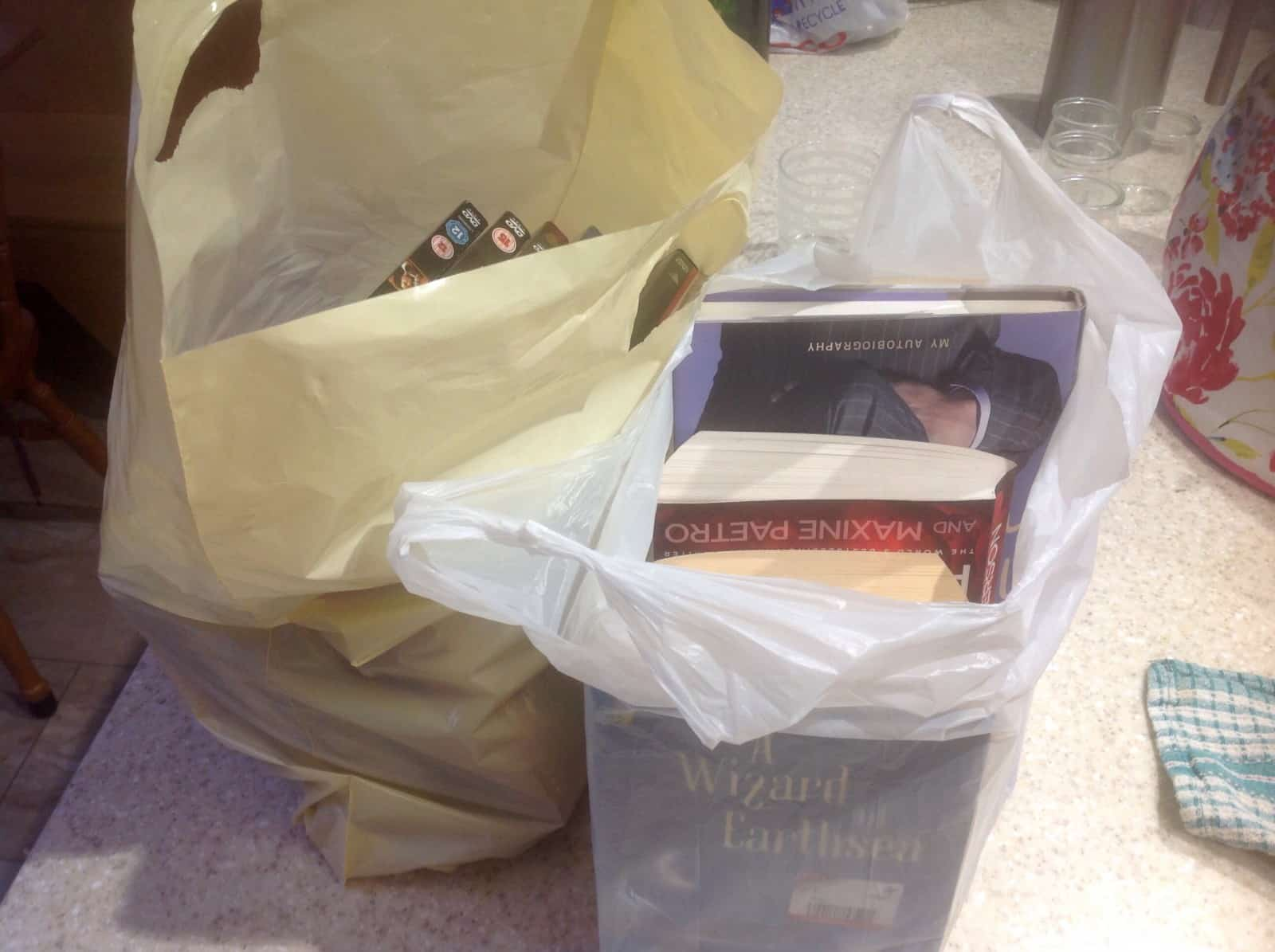 Books for charity shop
