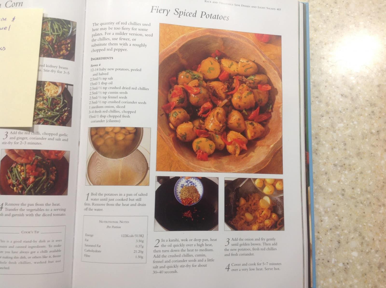 Fiery potatoes
