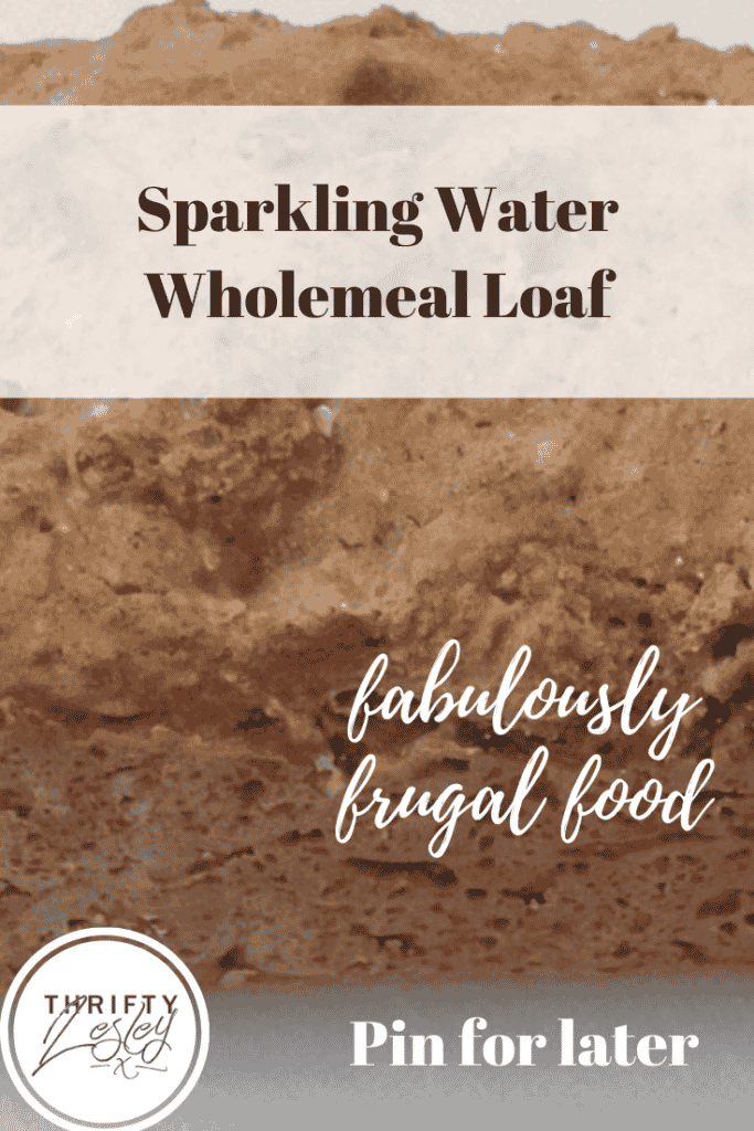 Sparkling Water Wholemeal Loaf