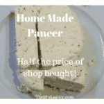 Home made Paneer. Cheap, delicious, versatile and nutritious. What's not to like?