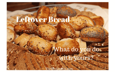 Leftover bread