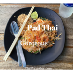 A gorgeous home made Pad Thai