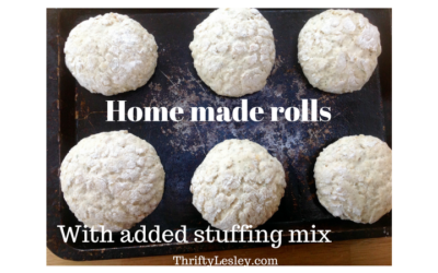 Rolls with added stuffing mix