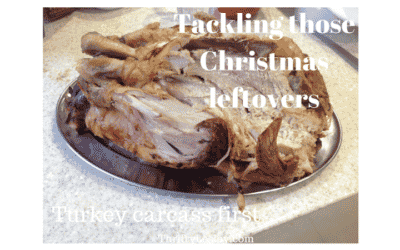 Christmas Leftovers – part 5. Turkey Liver Paté ; Cottage Pie; Stock