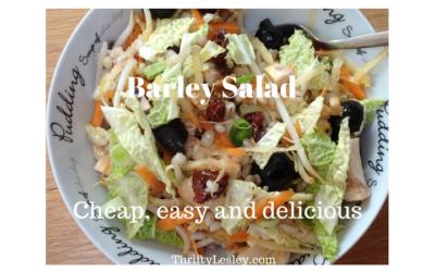 Barley Salad, 59p. Versatile, delicious and very easy to make