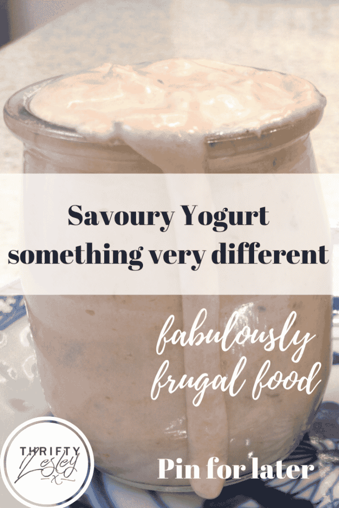 savoury yogurt