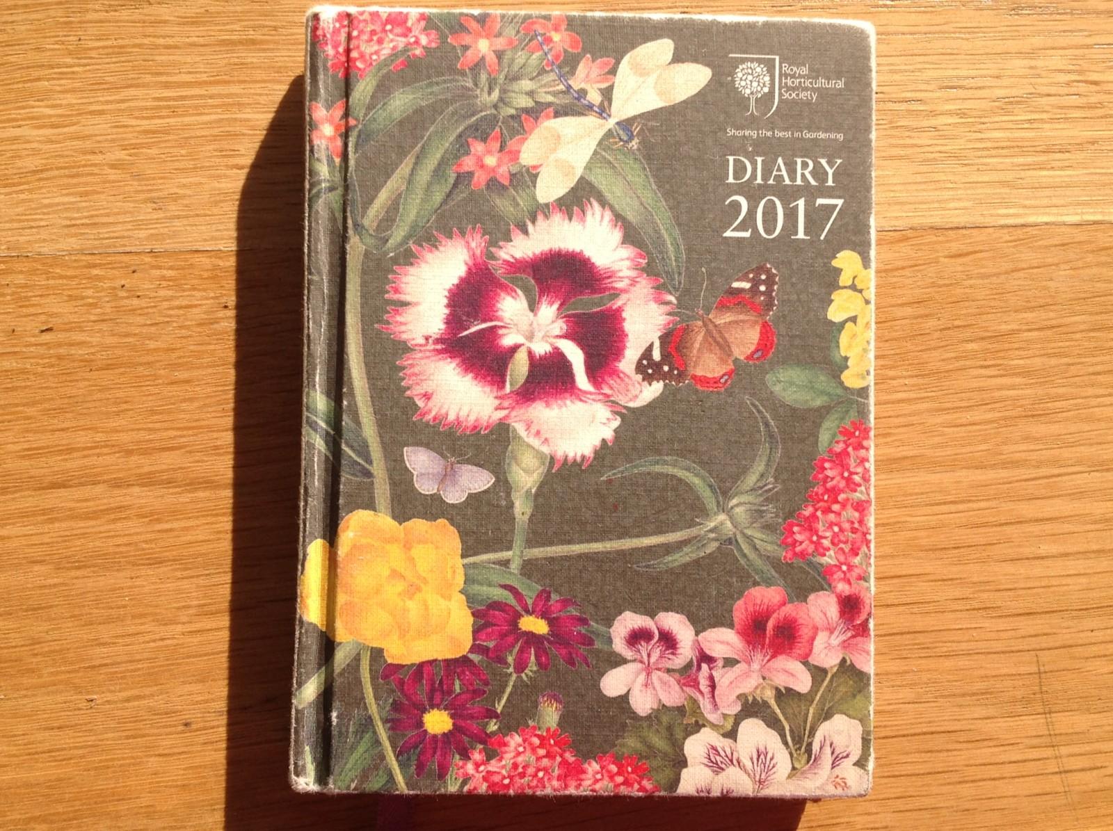 RHS diary