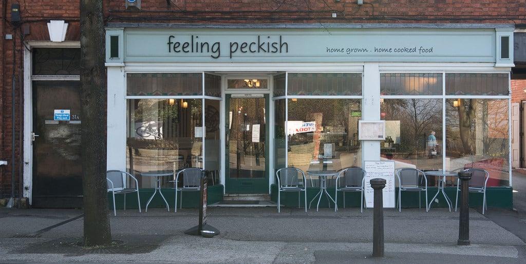 Feeling peckish, cafe