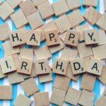 Birthday celebrations. I'm feeling thoroughly birthdayed!
