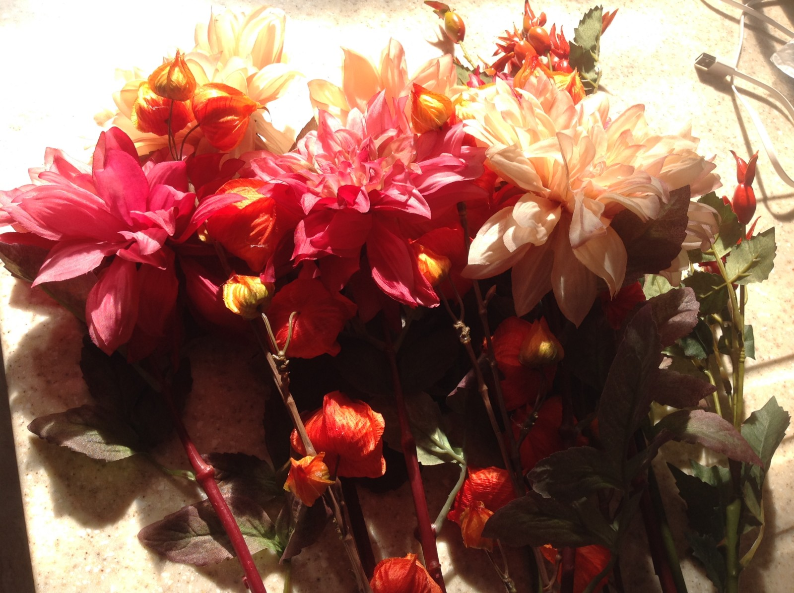 Silk flowers from Bloom