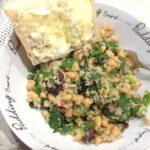 Bean and Quinoa, Lemon and Herb Salad