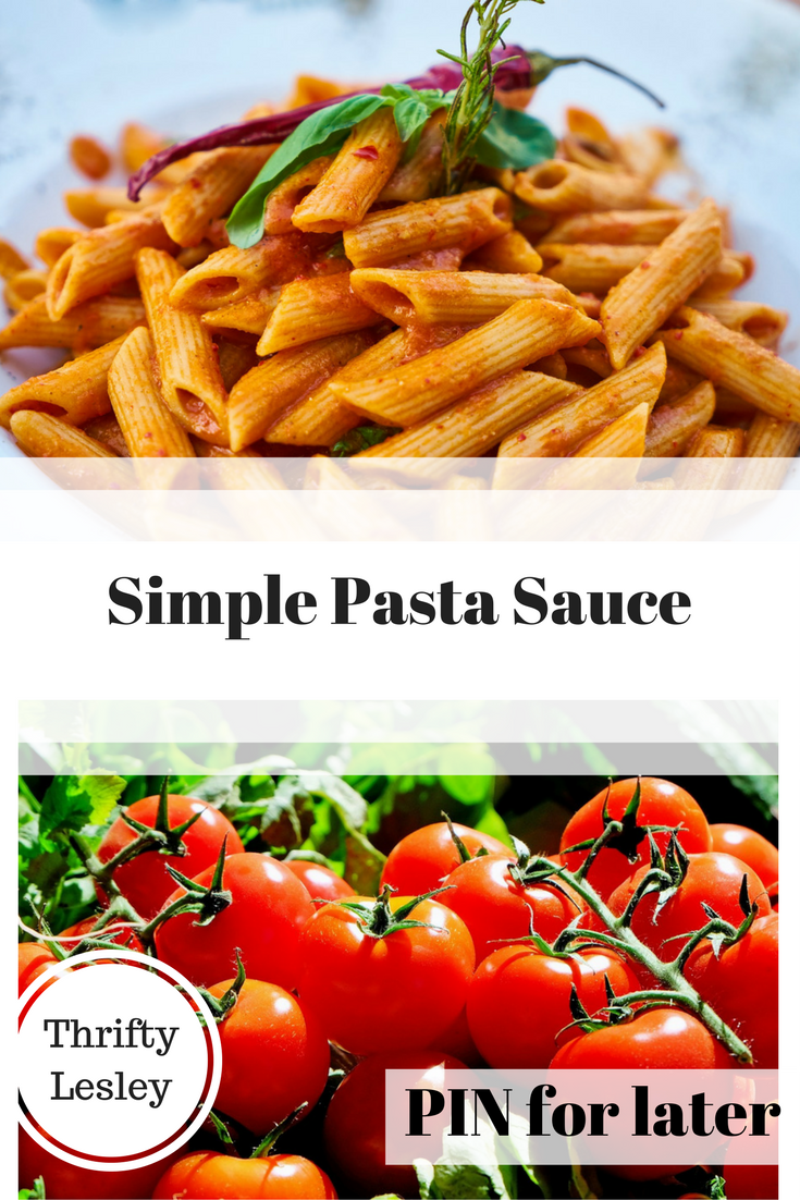Simple Pasta Sauce