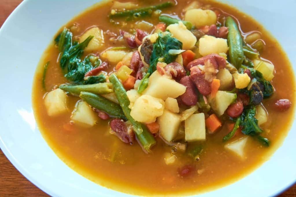 Gout friendly soup