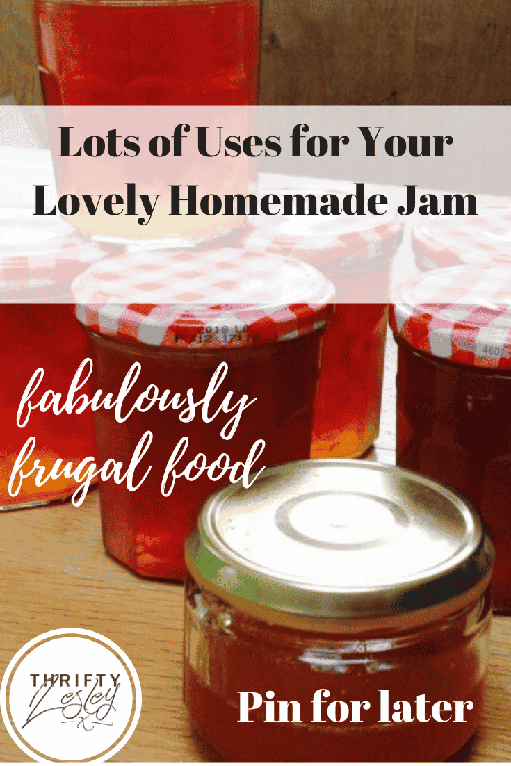 Homemade Jam Uses