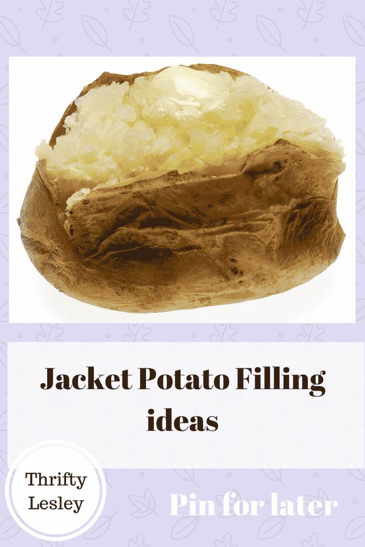 jacket potato fillings
