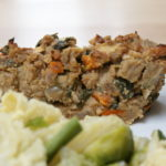 Lentil nut loaf vegan, versatile & rather delicious