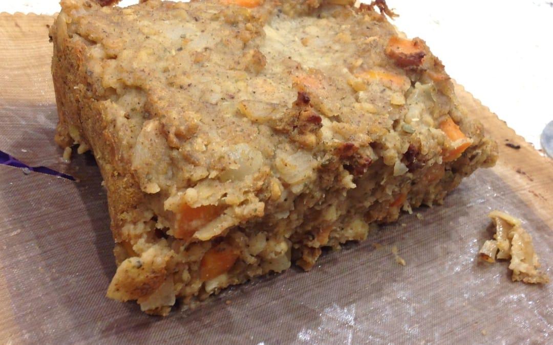 lentil and nut loaf