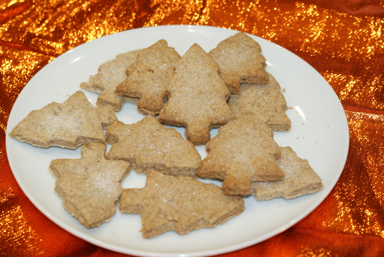 spiced biscuits for vegetarian christmas
