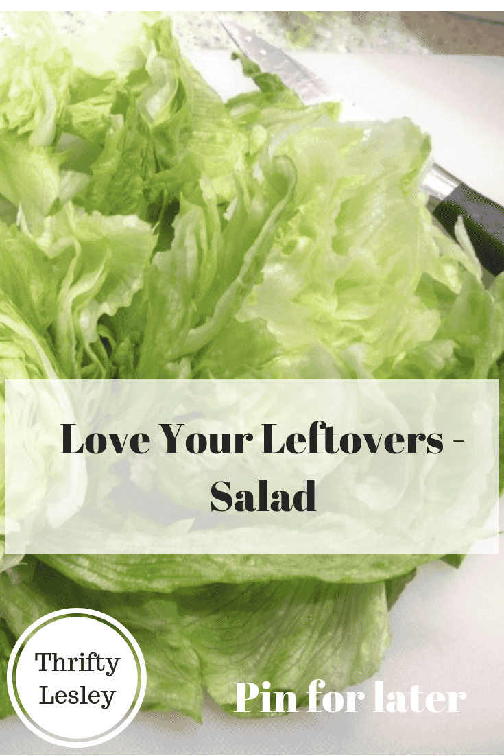 Love your leftovers - salad