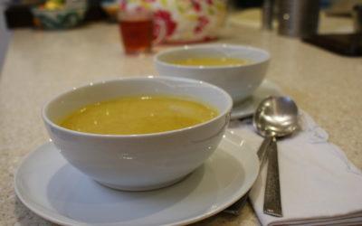 Carrot & Lentil Soup – 20p a serving, Meal Plan 1