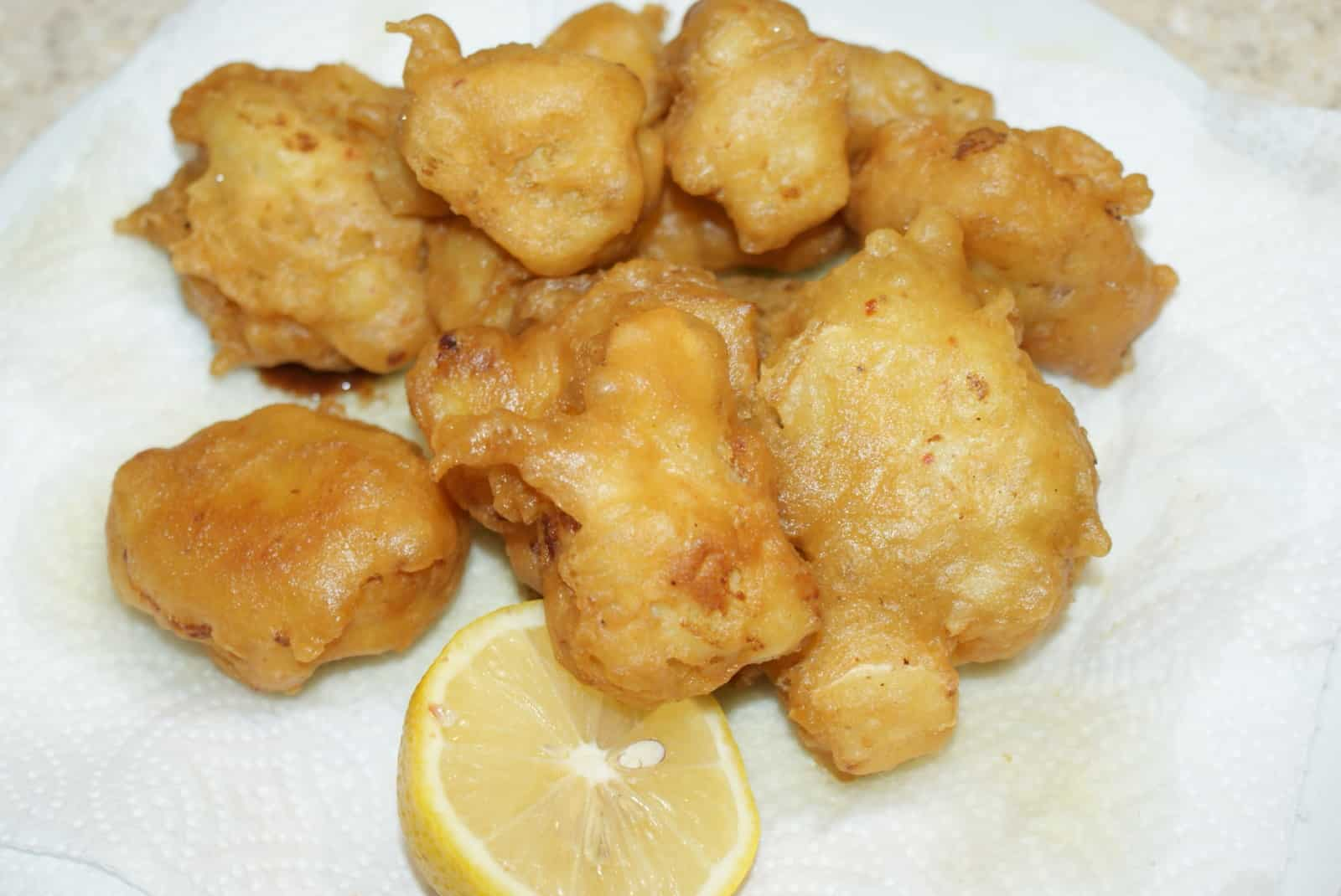 Cauliflower fritters - Greek food recipes