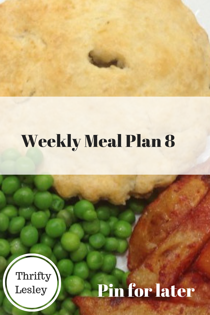 Weekly Meal Plan 8