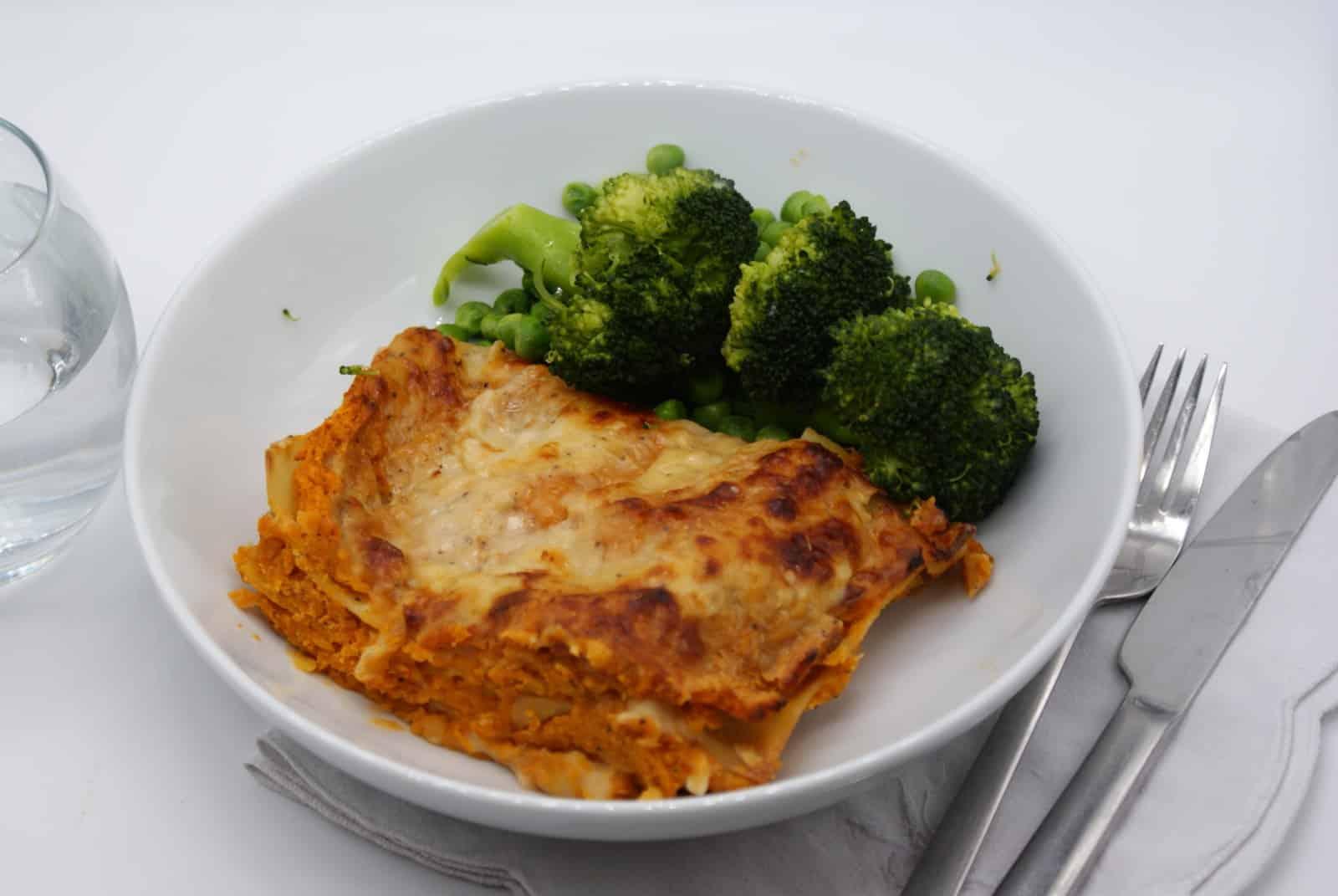 Lentil Ragu Lasagna