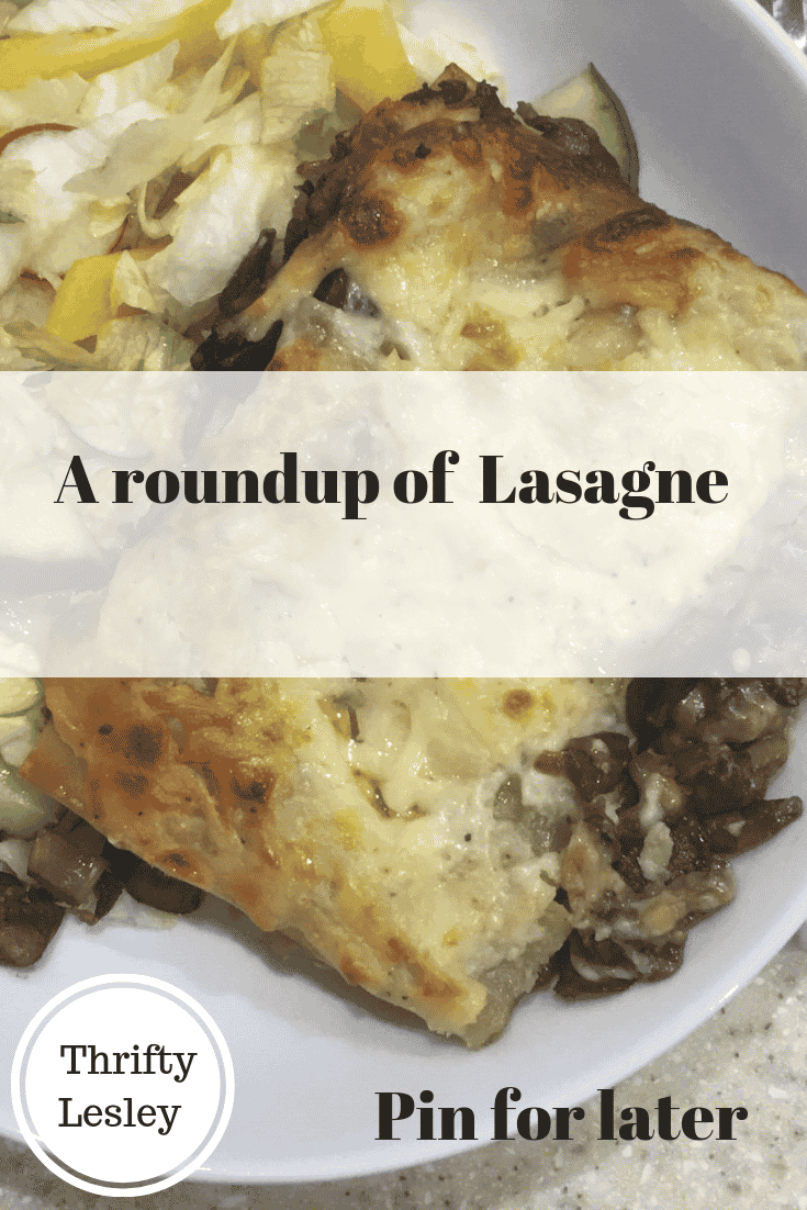a roundup of Lasagne