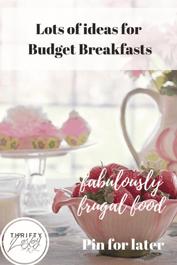 budget breakfasts