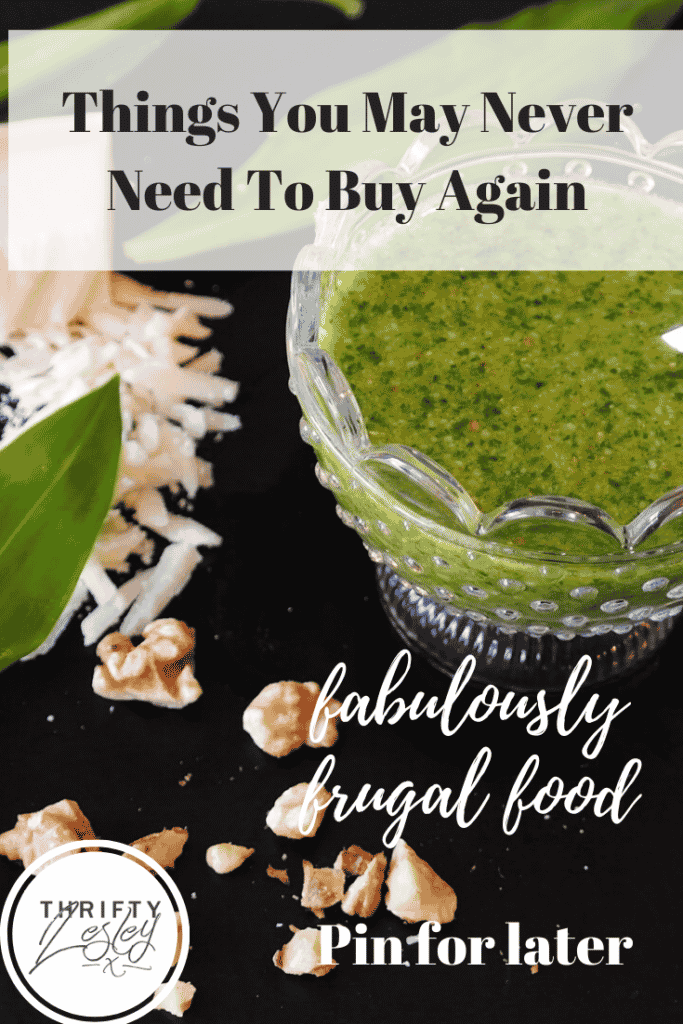 Things you can make and may never need to buy again