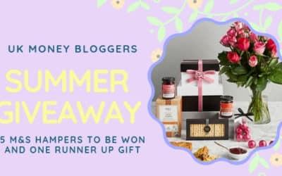 UK Money Bloggers Summer Giveaway